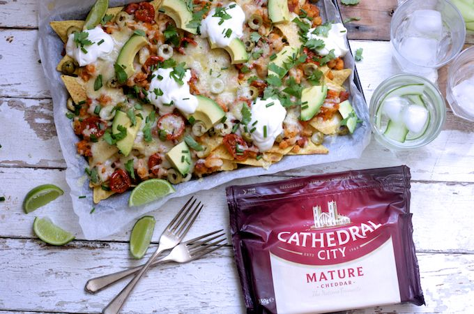 A festival of cheese and a celebration of mediterranean flavours – these loaded cheesy nachos are piled high with chorizo, cannelini beans, sunsoaked tomatoes, olives and avocado. To celebrate their relaunch, I've been challenged by Cathedral City Cheddar as part of their #LoveCheese campaign to come up with a recipe that really makes the most...Read More »