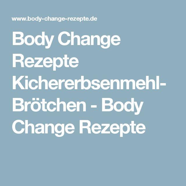 Body Change RezepteKichererbsenmehl-Brötchen - Body Change Rezepte