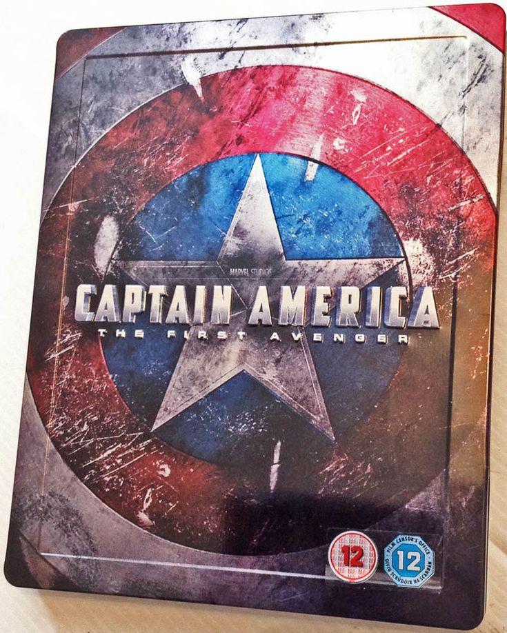 Captain America The First Avenger HMV Exclusive Steelbook RARE 2 Disc Blu Ray