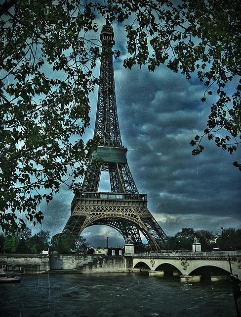 Eiffel tower by Big Max Power (BMP), via Flickr