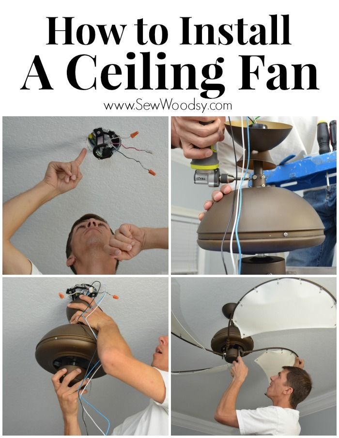 How to Install A Ceiling Fan with @Lamps Plus Ceiling Fan