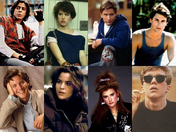 It wouldn't be the 80's without the Brat Pack Movies