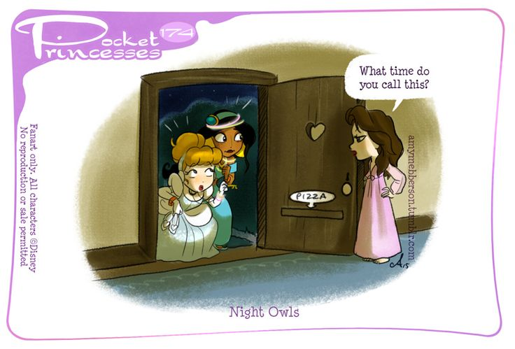 Pocket Princesses 174: Night Owls Please reblog, do not repost or remove captions. Facebook Page * Instagram