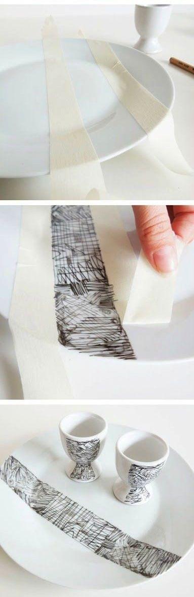 M s de 25 ideas incre bles sobre platos pintados en - Platos de ceramica ...