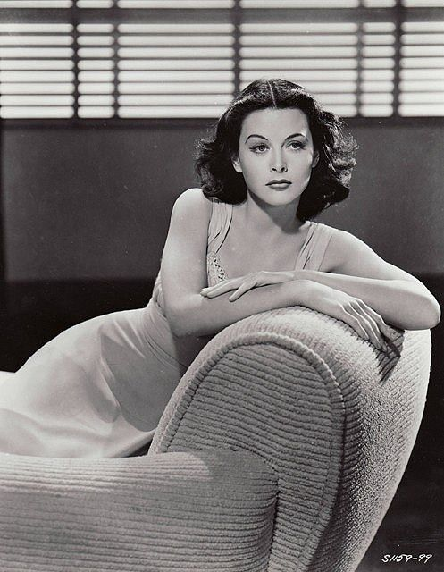 Hedy Lamarr, she was once considered the most beautiful woman in the world.