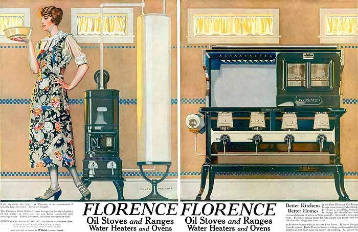 Florence Oil Stoves and Ranges (1923) Phillips,C