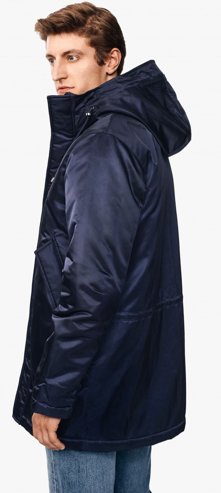 The blue parka   Teym ● The official online brand store