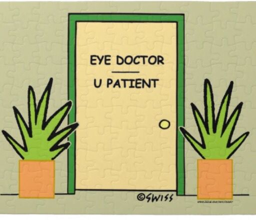 If Tarzan Had An Eye Clinic His Front Door Would Look
