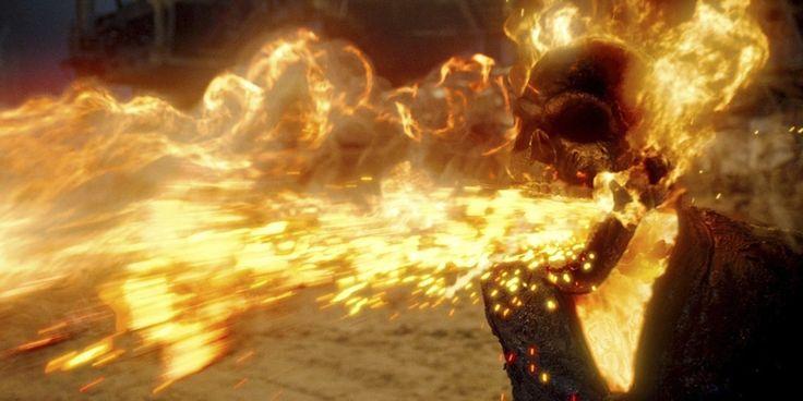 15 Kekuatan Super Ghost Rider Yang Gak Pernah Muncul Di Film Wajib Tau Nih!  Dagelan