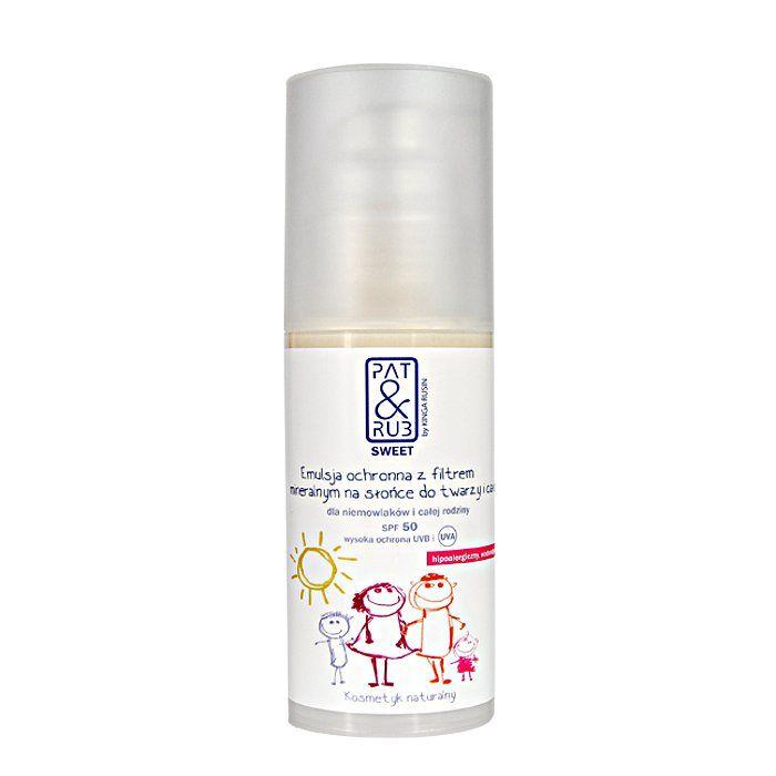 #NEW - Protective emulsion spf50   #NOWOŚĆ - #balsam ochronny #SPF 50 100% naturalnych składników  #cosmetics #balm #babies #spf 50 #kids #sun #UVprotection #kosmetyki #patandrub