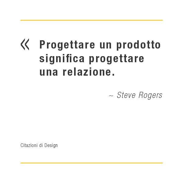 Citazioni di design: Steve Rogers