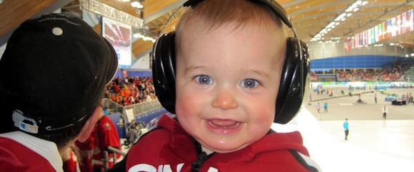 Sound proof baby headphones