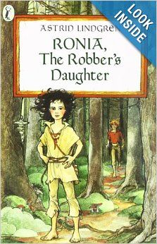 Fiction to read: Ronia, the Robber's Daughter: Astrid Lindgren: 9780140317206: Amazon.com: Books