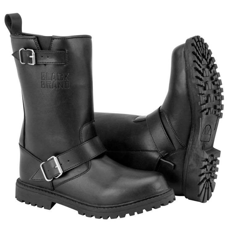 Black Brand Thug Boots $149.00 | Men's motorcycle boot Reinforced toe, heel  and ankles D3O