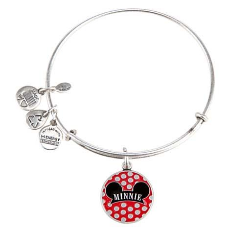 alex and ani disney | Your WDW Store - Disney Alex and Ani Charm Bracelet - Minnie Mouse Ear ...