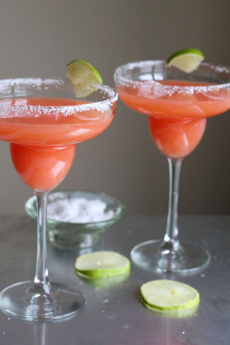 Tequila Sunrise Margarita - Two of the most classic cocktails to form one amazing drink!