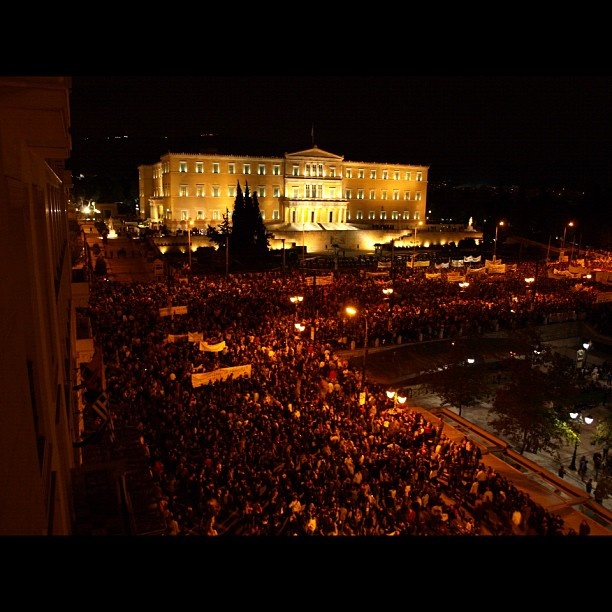 Memorandum 3. Series. Athens protests 6/11/12