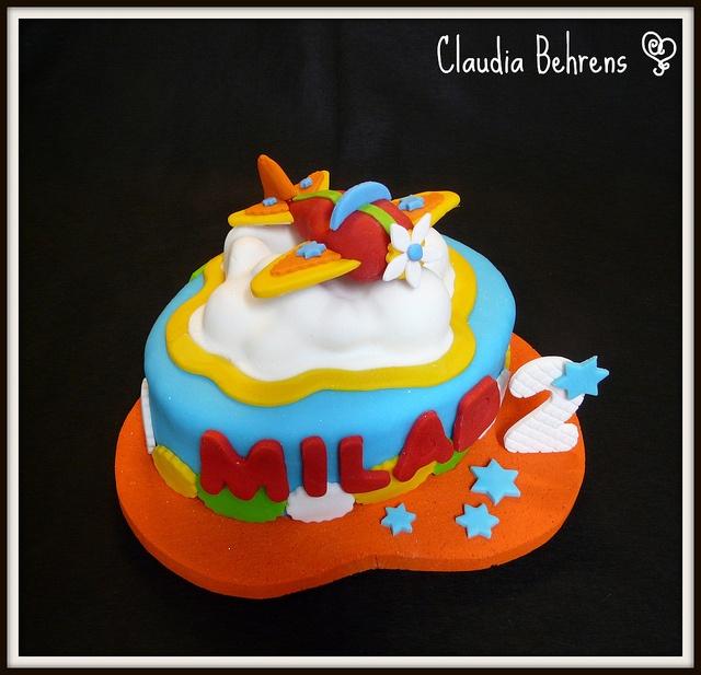 airplane cake milad - claudia behrens by Claudia Behrens ~ Cakes, via Flickr