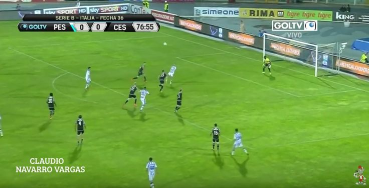 Spurs and Leicester target Gianluca Lapadula scored a stunning overhead last night (Video)