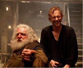 Tom Hiddleston has Henry V with Simon Russell Beale as Falstaff.