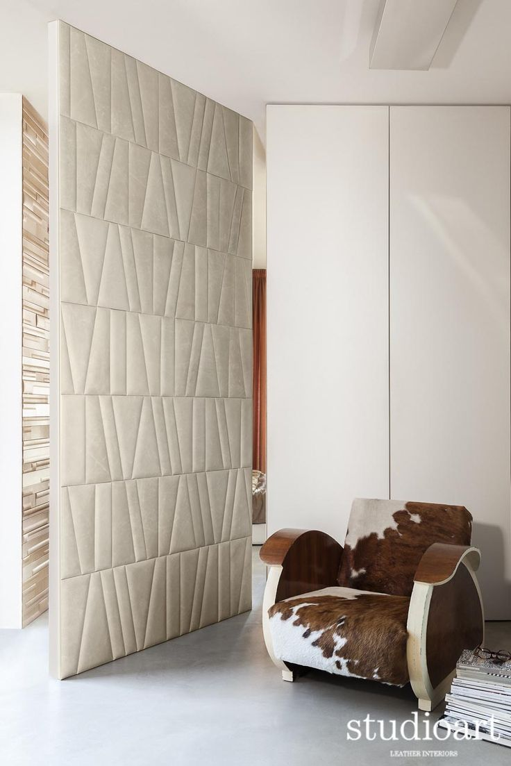 Frammenti lumiere cool  #studioartleather #leather #leatherwall #design #homedecor #home #doors #rooms
