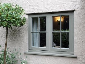 cottage flush casement timber window