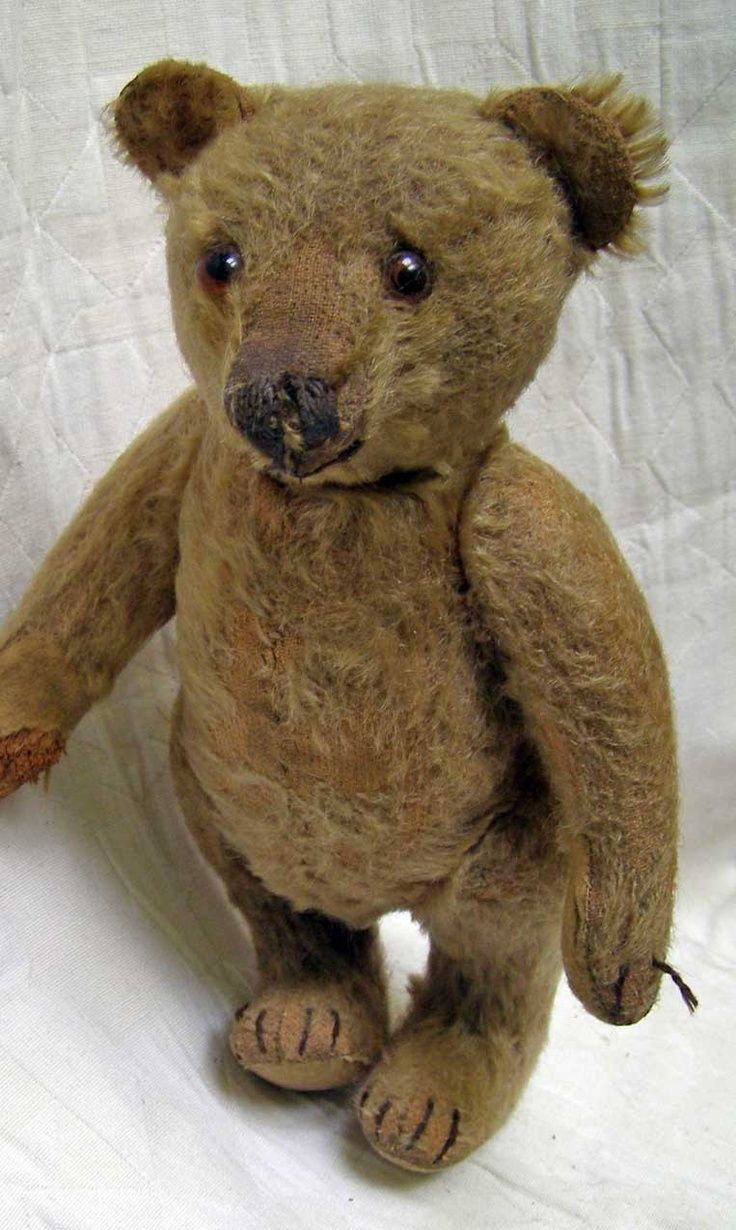 ... Antique Teddy Bears, Teddy Bear Antique, Antique Steiff Bears, Vintage