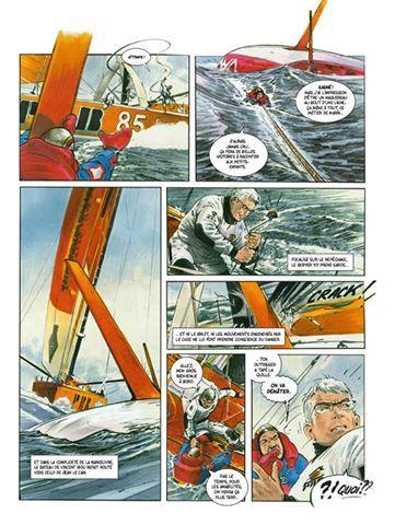 Ah das ist spannende Lektüre und etwas fürs Auge! Die Geschichten der letzten Vendée Globe in bester französischer Comic-Manier. Plus viel Wissenswertes übers Offshoresegeln mit einem eigenen IMOCA-Sachteil. Ab in den Warenkorb damit...  www.dargaud.com
