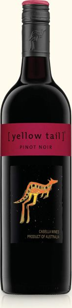 Pinot Noir | yellow tail wine. One of my favorites