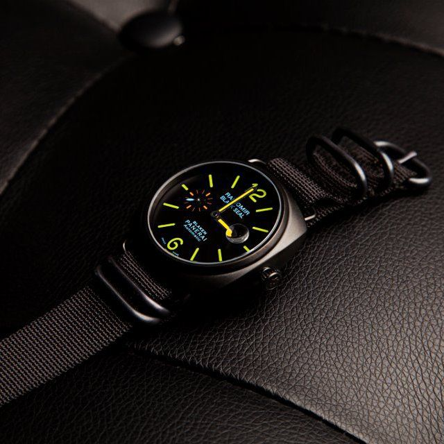 I LOVE THIS ! - Panerai Radiomir Black Seal by Blaken