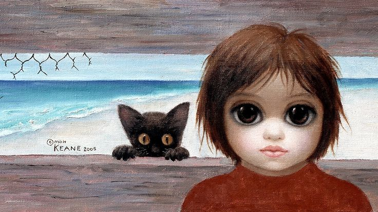 Starting in the 1950s, artist Margaret Keane began creating paintings of people and animals with oversized doe-eyes. The paintings gained widespread popularity in the 1960s, but at the time Keane&#…