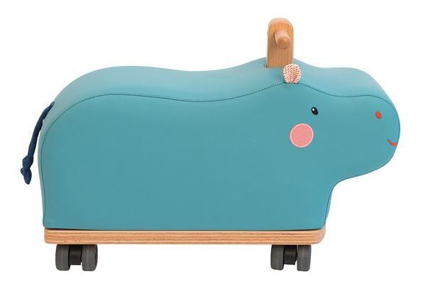 Les Papoum – Hippo ride-on