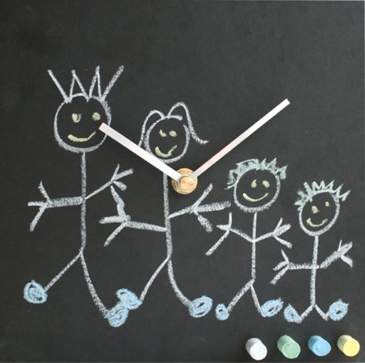 Toddler Clock Eco Friendly [TCH] - The eco toddler clock is the perfect accessory to engage your child with telling the time. The clock has been designed to enable children to draw on the clock fascia with provided, multi-coloured chalk, thereby getting them interested in the clock itself. It's a sneaky and perfect way of getting young