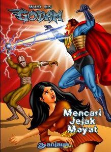 Mencari Jejak Mayat: Godam memburu roh jahat pemimipin bandit  #komik #KomikIndonesia #komikjadul #Godam
