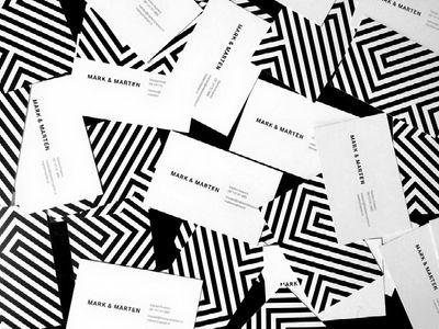 Mark & Marten business cards by Mark & Marten