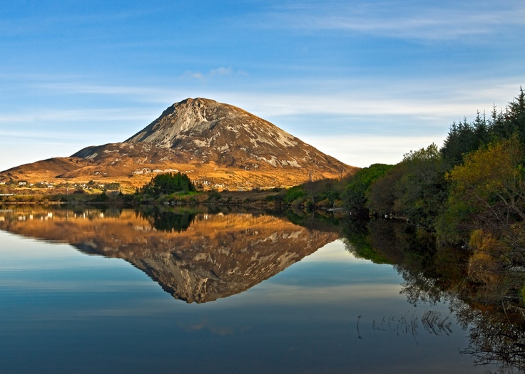 Calm Water - Mount Errigal, Co. Donegal, #Ireland #Eire