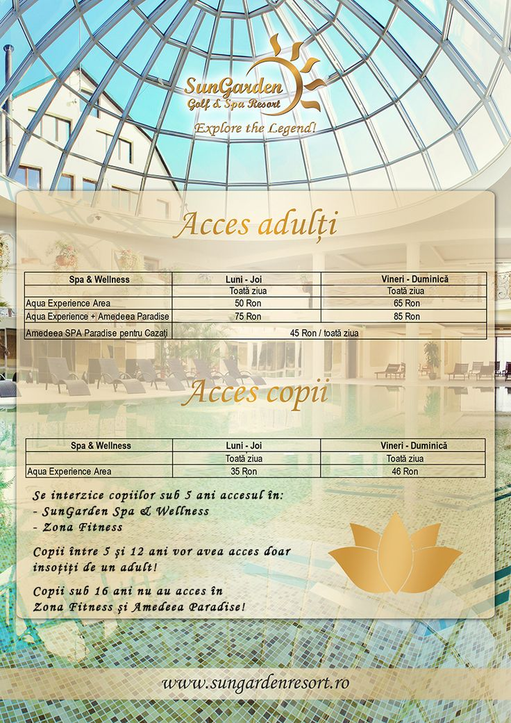 http://www.sungardenresort.ro/spa-wellness/spa-packages