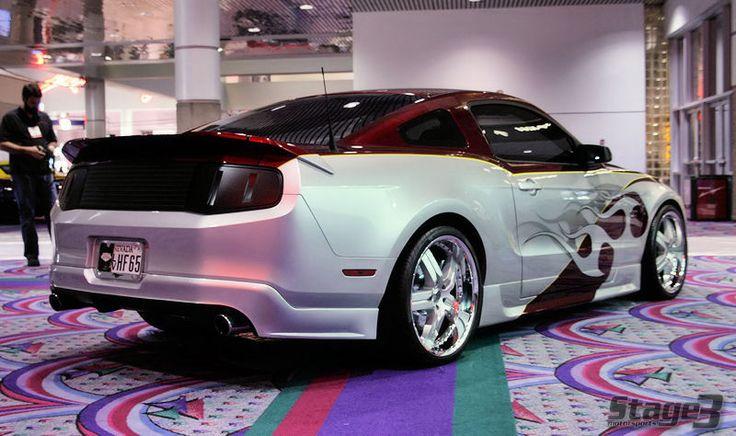 Custom 2010 Mustang Rebellion