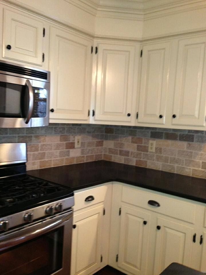 Stone Backsplash Subway Kitchenbacksplashcream Stone Backsplash