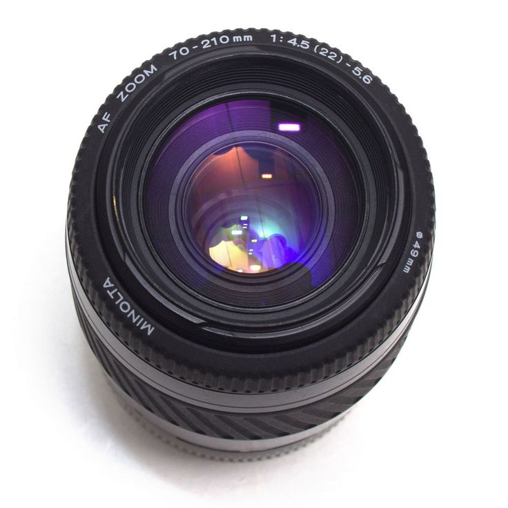 Minolta AF 70-210mm F4.5- 5.6 Telephoto Zoom Lens Sony A Alpha Digital VGC Black