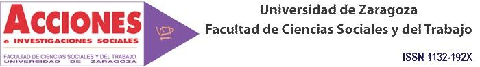 Acciones e investigaciones sociales.   Universidad de Zaragoza(Facultad de Ciencias Sociales y del Trabajo).