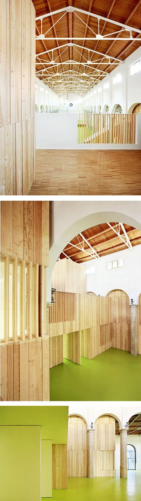 Refurbishment of the old marketplace as a children´s center by miquel mariné, césar rueda bon.