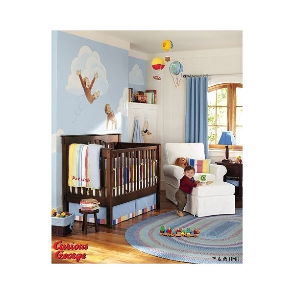 Curious George™ Nursery | Pottery Barn Kids