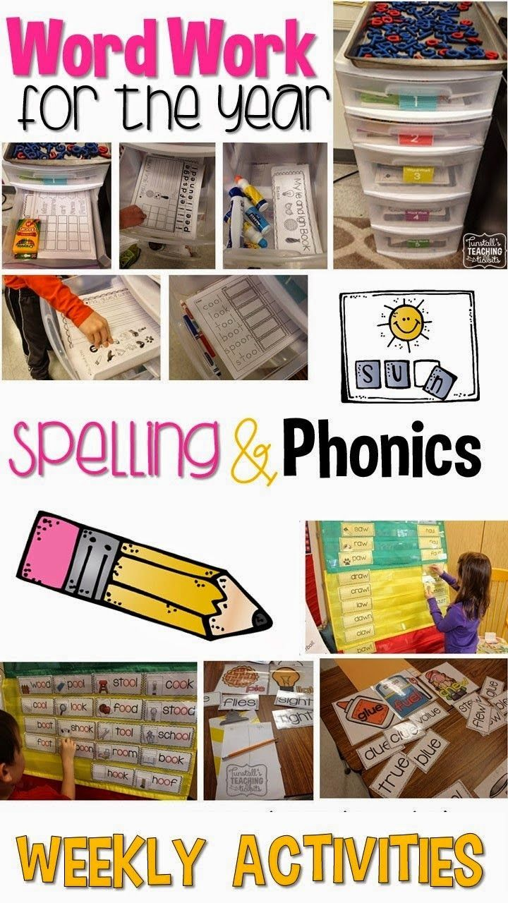 Spelling and Phonics - Step by Step - Tunstall's Teaching Tidbits