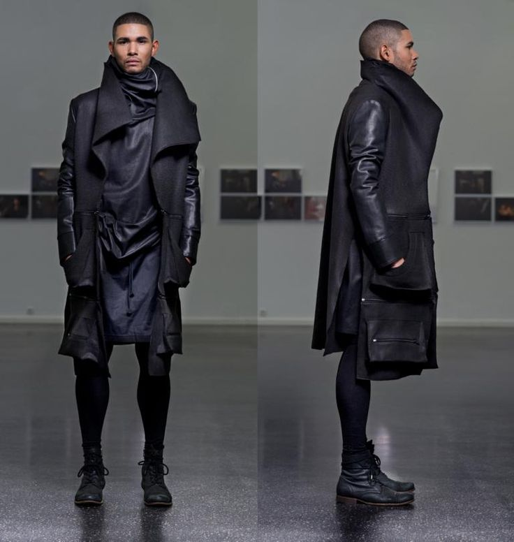 Visions of the Future: Florian Wowretzko - Ecce Homme Menswear Collection