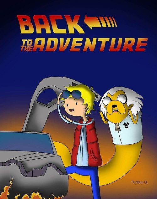 f yeah adventure time