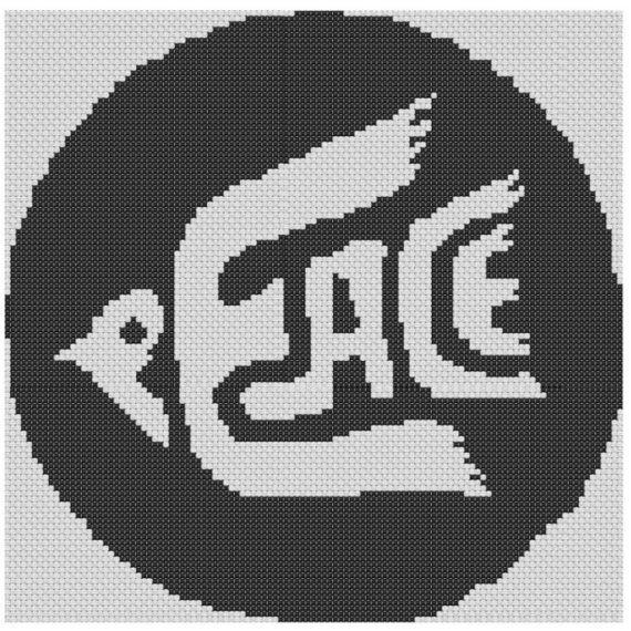 Peace Dove Cross Stitch Kit