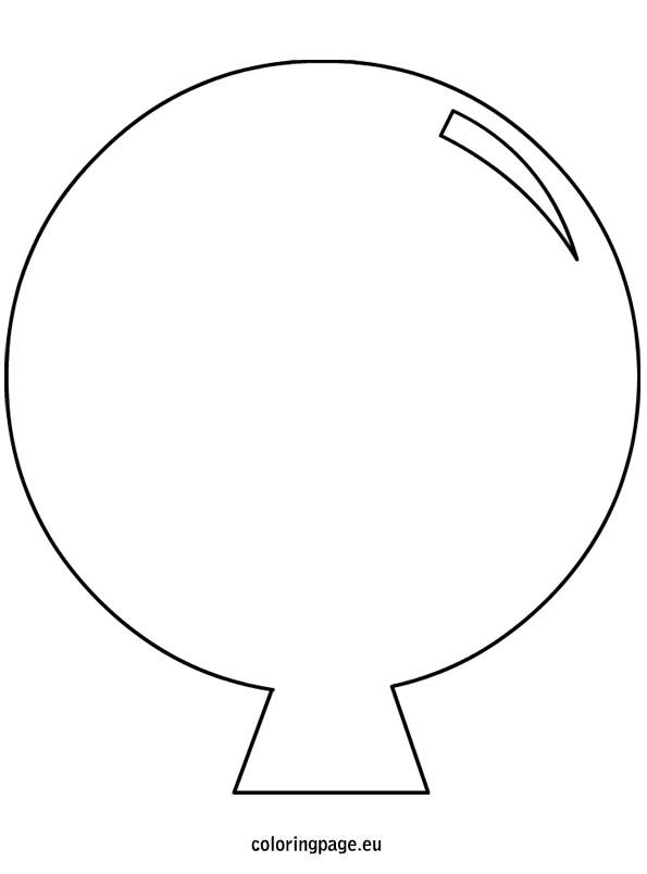 Wild image for balloon template printable