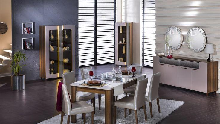 Cordoba Yemek Odası Takımı - Bellona Mobilya