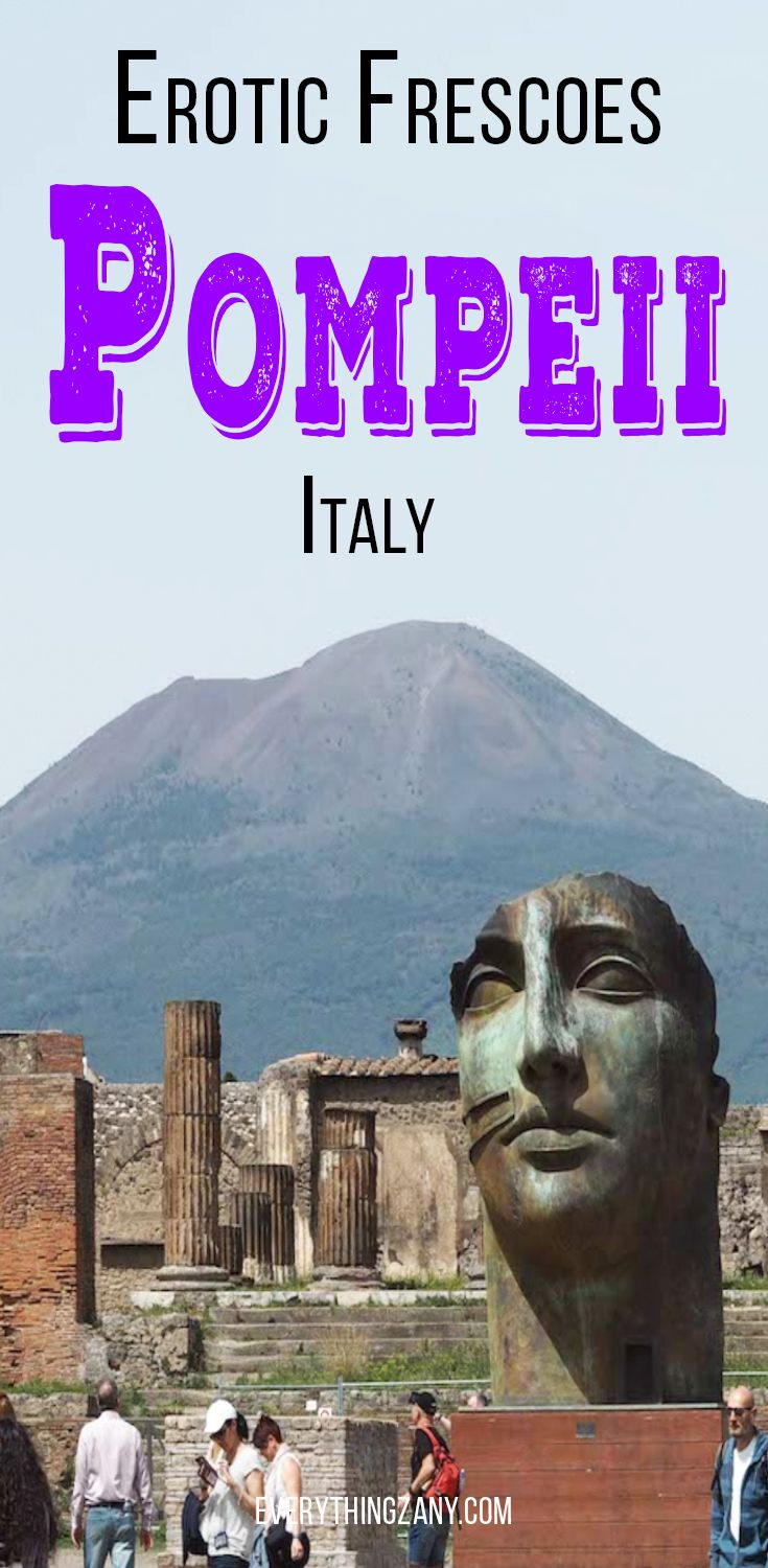 #Pompeii #Italy | Points of Interest: The Erotic Side of Pompeii (Italy) | The ancient city of Pompeii in Italy has a rich history. One of the points of interest and things to do in Pompeii is to visit the infamous largest brothel in the ancient city. The erotic murals of Pompeii conveyed that prostitution is an integral part of the Roman culture in the ancient times.